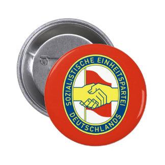 Sed, politische Flagge Kolumbiens Runder Button 5,7 Cm