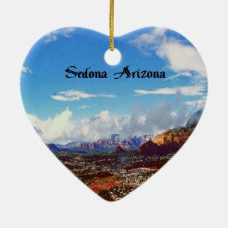 Sedona Arizona Keramik Herz-Ornament