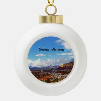 Sedona Arizona Keramik Kugel-Ornament