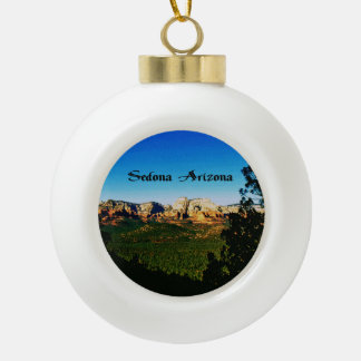 Sedona Arizona Keramik Kugel-Ornament