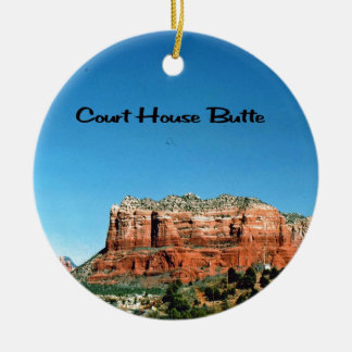 Sedona Arizona Rundes Keramik Ornament