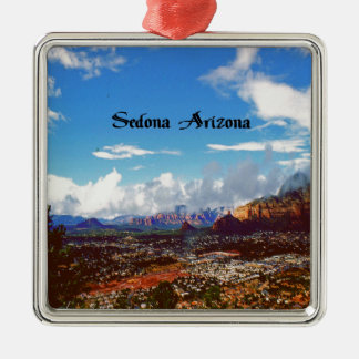 Sedona Arizona Silbernes Ornament