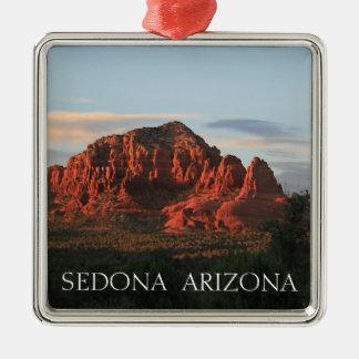 Sedona Sonnenuntergang Silbernes Ornament