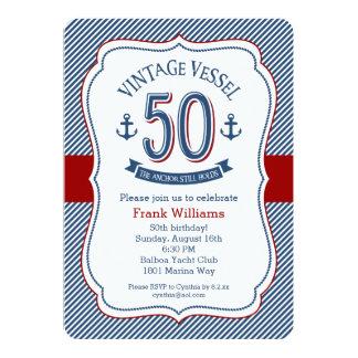 See50. Geburtstag 12,7 X 17,8 Cm Einladungskarte