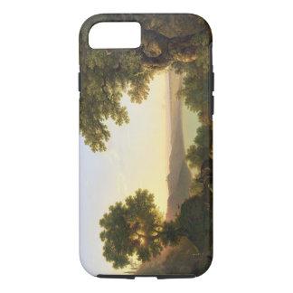 See Albano, Italien, 1777 (Öl auf Leinwand) iPhone 8/7 Hülle