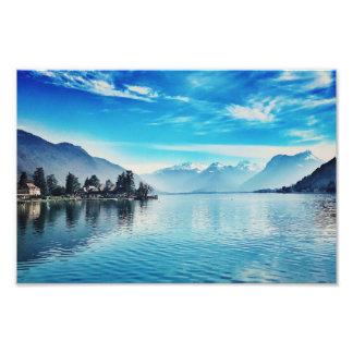 See Annecy - Baie de Talloires Print Fotodruck
