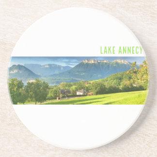 See-Annecy-Sandstein-Untersetzer Sandstein Untersetzer
