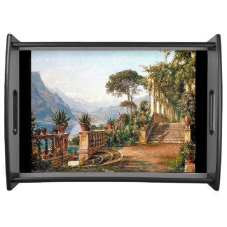 See Como Italien Tablett