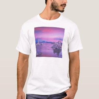 See-Dämmerungs-Südtuff-Waldung mono T-Shirt