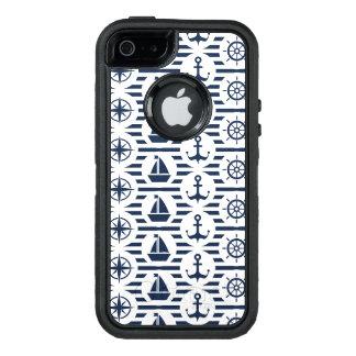 See im blauen Muster OtterBox iPhone 5/5s/SE Hülle