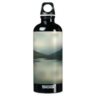 See in den Bergen Aluminiumwasserflasche