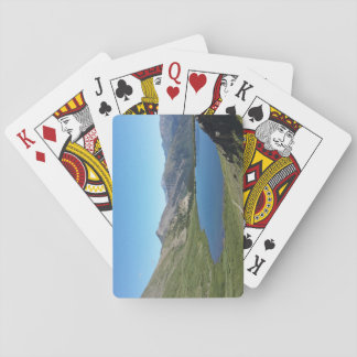 See in den Spielkarten Rocky Mountainss
