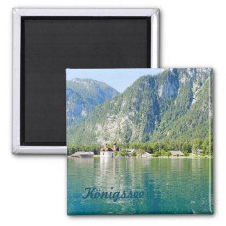 See Königssee Quadratischer Magnet