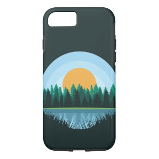 See-Landschaftsfall iPhone 8/7 Hülle