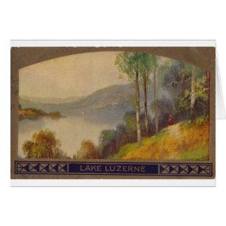 See Luzerne Vintage Postkarte