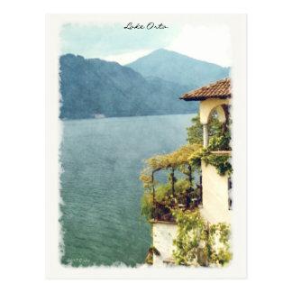 See Orta von Orta San Giulio Postkarte