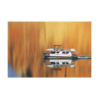 See-Powell-Boot Leinwanddruck