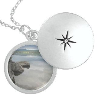 See schaukelt Foto Sterling Silberkette