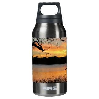 See-Scott-Sonnenuntergang-Fotografie Isolierte Flasche