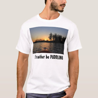 See-Sonnenuntergang, würde ich vielmehr SCHAUFELN T-Shirt
