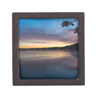 See-Springfield-Herbst-Sonnenaufgang Schachtel