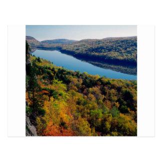 See-Stachelschwein-Berge Postkarte
