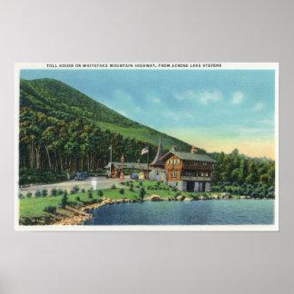 See-Stevens-Ansicht des Gebührn-Hauses Plakatdrucke
