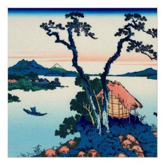 See Suwa in Shinano Provinz Poster