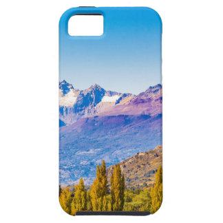 See-und Gebirgslandschaft, Patagonia, Chile iPhone 5 Hülle