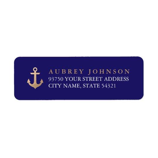 Seeadressen-Etiketten