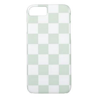 Seeanemonen-Gingham-Muster iPhone 8/7 Hülle