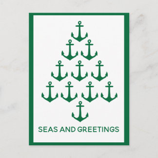 Nautical Anchor Tree Coastal Christmas