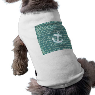 Seeanker im Türkis aquamarin T-Shirt