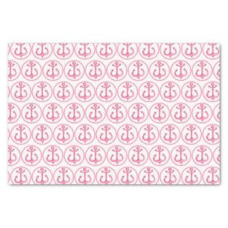 Seeanker-Seidenpapier des thema-| rosa Seidenpapier