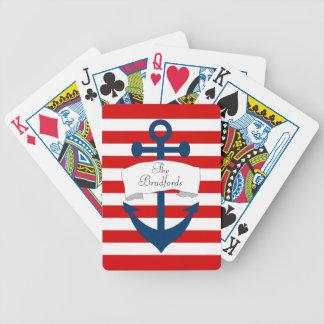 Seeanker-Spielkarten Bicycle Spielkarten