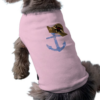 Seeanker-u. Seemann-Schädel-Hut Shirt