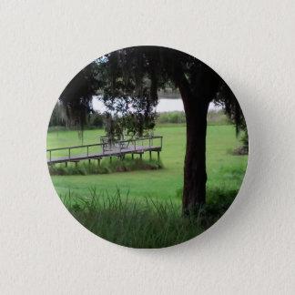 Seeansicht-Trockendock Runder Button 5,7 Cm