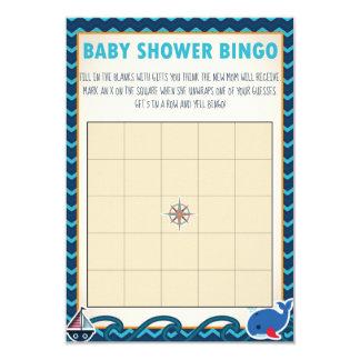 SeeBabyparty-Bingo-Spiel Karte