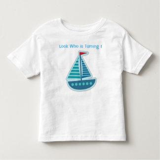 Seeboots-Geburtstags-T - Shirt