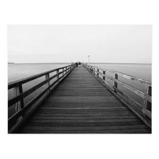 Seebrücke Postkarte