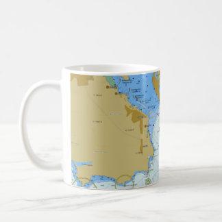 Seediagramm-Kaffee-Tasse Kaffeetasse