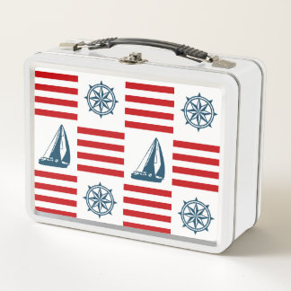 Seeentwurf Metall Lunch Box