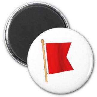 Seeflagge 'B Runder Magnet 5,7 Cm