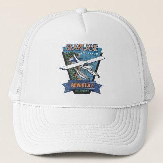 Seeflugzeug-Luftfahrt-Abenteuer Truckerkappe
