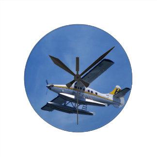 Seeflugzeug Runde Wanduhr