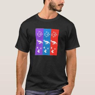 Seegeschöpfe: HAIFISCH bigFISH smallFISH Nahrung T-Shirt