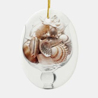 Seeglas Keramik Ornament