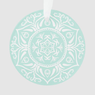 Seeglas-Mandala Ornament