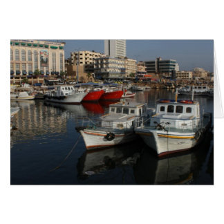 Seehafen von Tartus, Syrien Karte