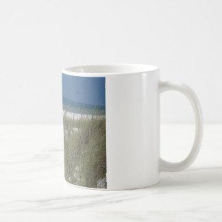 Seehafer und -wellen kaffeetasse